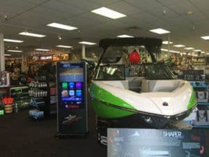 Interactive Signage Case Study: Boat Dealership
