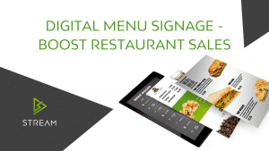 Digital Menu Signage – Boost Restaurant Sales