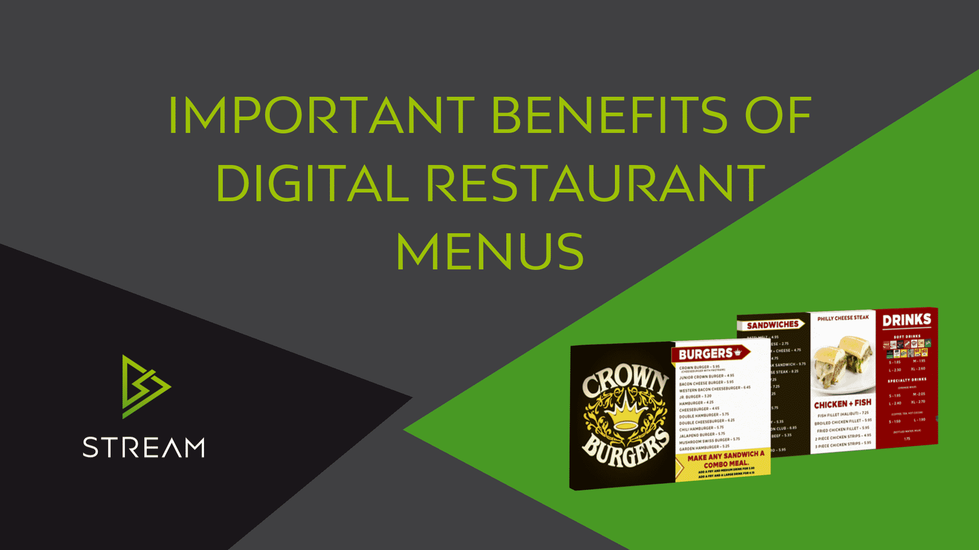 Restaurant Menu – Important Benefits going Digital