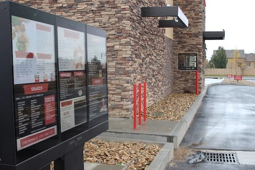 Digital Drive Thru Menu - Stream Case Study - American Burgers - Digital Drive Thru Menu