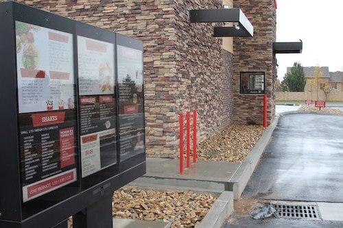 Digital Drive Thru Menu - Stream Case Study - American Burgers - Digital Drive Thru Menu