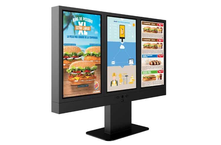 keewin+IP68+drive+thru+menu+board+kiosks+three+pieces-2