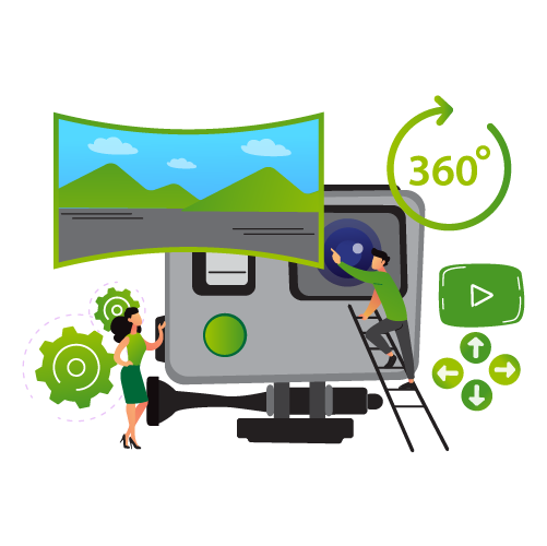 Photography & Video Creation 360 Tours - STREAM