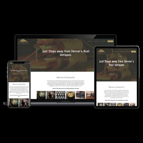 Website Development - Denver Antiques - Stream