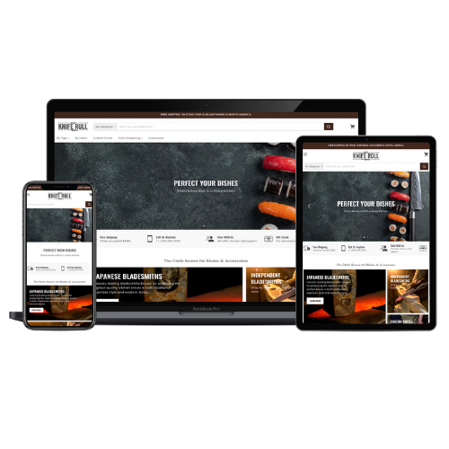 Website Development Portfolio Knife Roll - STREAM