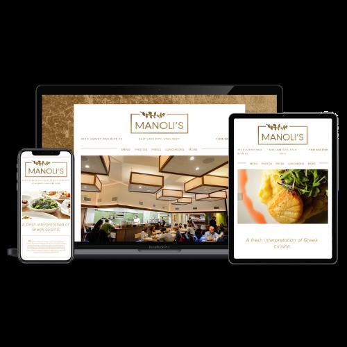 Website Design Portfolio Manolis - STREAM